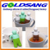 Popular Selling Lazy Mr. Tea Silicone Tea Infuser with Removable Hands