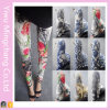2016 Spring Large Size National Wind Printing Flowers Leggings
