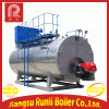 Horizontally-Mounted Gas and Oil Fired Steam Boier or Hot Water Boiler