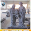 Granite Holy Family Sculpture Hand Carved Statue