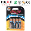 Lr6 AA Super Alkaline Battery with High Quality (AA alkaline battery)