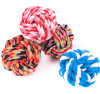 Dog Cat Entertainment Rolling Pet Cotton Rope Ball