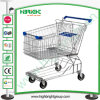 Zinc Galvanized Shopping Trolley Cart for Mall