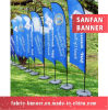 Outdoor Advertising Feather Beach Promotional Flag for Wholesale