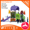 Amusing Plastic Playground Slide Outdoor Playground Equipment for Sale