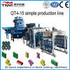 Cheap Small Hydraulic Cement Brick Making Machine in India (QT3-15)