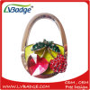 New Design Metal Bag Hook with Flower Shape