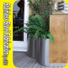 Stainless Steel Half Flower Pot Planter