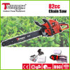 Chainsaw 82 CC Gasoline with Ce, GS, Euro II Certificates Power Tools