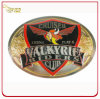 Customized Two Tone Finish & Color Fill Metal Belt Buckle