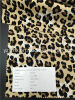 Finished Fabric 100% Cotton Twill Printed Leopard Print