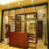 304 201 Brass Perforated Sheet Stainless Steel Screen for restaurant Room Divider Decorating
