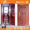 Stainless Steel Security Doors/ Wood-Steel Armored Door for Home, Apartment