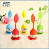 Sweet Leaf Silicone Tea Infuser Reusable Strainer with Drop Tray