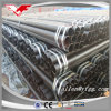 Dn15--Dn200 Black Painted or Oiled ERW Ms Steel Pipe