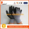 Grey Nylon with Spandex Shell Nitrile Foam Finished Glove Dnn151