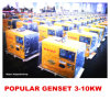 Small Air Cooled Diesel Generator 3kw, 5kw, 6kw, 10kw