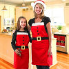Fast Delivery Creative Christmas Apron (C-4)