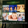 New Fabric Frameless Advertising Display LED Light Box, Outdoor Textile Backlit Light Box Frame