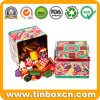 Square Metal Sweets Confectionary Candy Tins for Gift Packaging Box