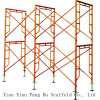Powder Coated Light Duty Mobile Frame Scaffolding