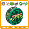 Ninja Turtles Shape Embossed Metal Tin Lunch Box for Gifts