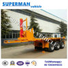 20FT Flatbed Front Lifting Tipper Dumper Trailer 3 Axle