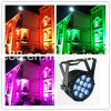 Outdoor 12PC 5 in 1 LED Flat LED PAR Light