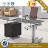 Glass Top Exeuctive Office Desk MDF Office Furniture (NS-ND131)