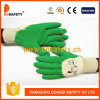 Ddsafety 2017 Green Latex Crinkle Finished Glove