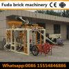 Qt4-24 Automatic Concrete Hollow Block Making Machine in Uzbekistan