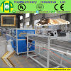 Plastic Mould Extrusion Twin Screw Imitation Marble PVC PS Skirting Line Production Plant