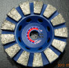 Fan-Shaped Grinding Wheel for Polishing Stone