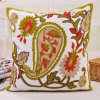 Cotton Canvas Embroidery Cushion Fashion Pillow (GL04-562)