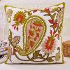 Cotton Canvas Embroidery Cushion Fashion Pillow (GL04-562)
