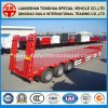Low Bed/Lowbed Semi Truck Trailer for Non-Removable Cargo Transport