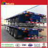 40ft Flatbed Truck Chassis Container Semi Trailer with Container Locks