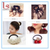 Fashion Flower Pearl Ribbon Women Hair Accessories