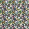 Kingtop 1m Width Flower Design Aqua Print Film Wdf703-1