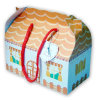 Die-Cut Gift Box in Shapes with Handles