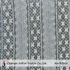 off White Cotton Geometric Lace Fabric (M3061)