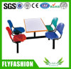 Hot Sale Restaurant Table and Chair with Four Seats for Sale