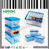 Clear Folding Storage Plastic Crates with Side Door
