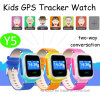 Touch Screen GPS Kids Tracker Watch with Lbs+GPS Dual Positioning (Y5)