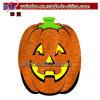 Glitter Jack O Lantern Cutout 18in Halloween Pumpkin (H1011)