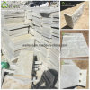 Natural Split Beige Quartzite Square Tile, Mushroom Tile and Wall Corner
