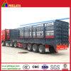 Bulk Cage Truck Semi Trailer / Livestock Trailer for Sale