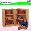 Cheap School Classroom Wooden Cabinets Kids Wooden Role Play on Stock (HB-03905)