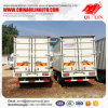 Chinese 3 Ton Mini Container Van Truck with Rear Door