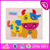 2015 Small Wooden Puzzle Game for Kid, Eco-Friendly Non-Toxic Wooden Puzzle Game, Hot Sale Cartoon Wooden Puzzle Game Toy W14c085